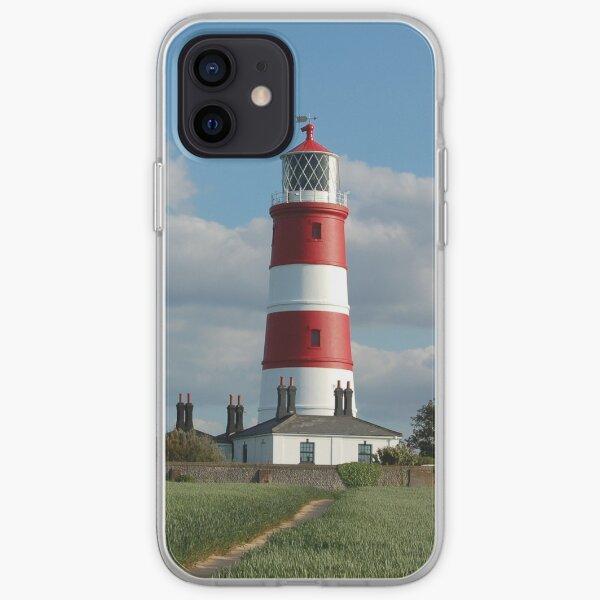 Happisburgh Lighthouse, Norfolk iPhone Soft Case