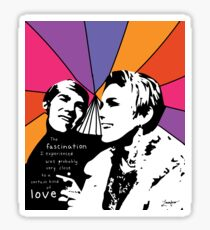 Love and Fascination  Sticker