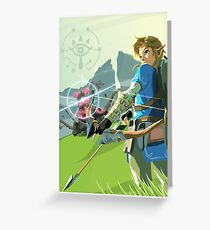 Breath of the Wild - Legend of Zelda Greeting Card