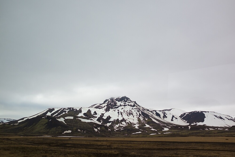 Snowy Hills, Iceland by kmgsphotography