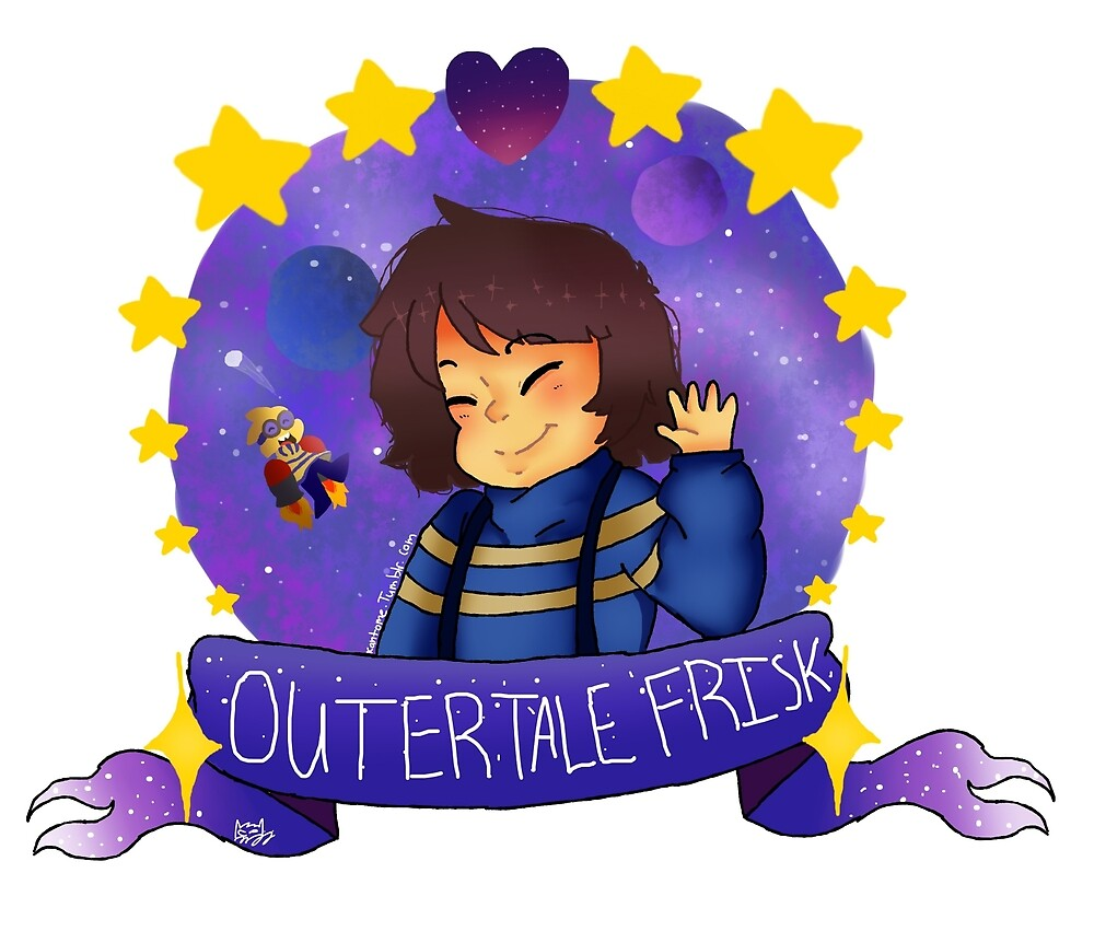 Outertale Frisk by Artzombie