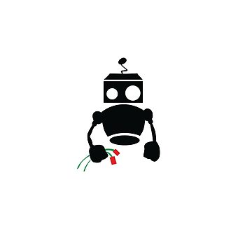 Robots with Roses  by datathegreat