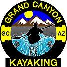 KAYAKING GRAND CANYON ARIZONA KAYAK WHITEWATER RIVER RAFTING by MyHandmadeSigns