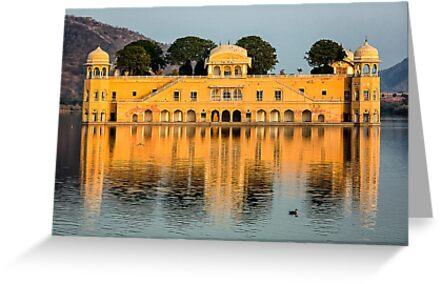 Water Palace - Rajasthan, India by JamesKaoFoto