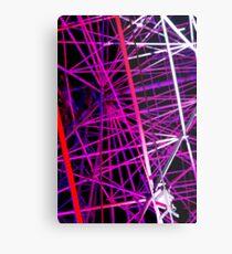 Ferris Wheel Abstract - Dark Mofo 2014 Metal Print