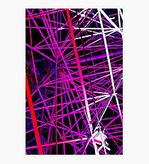 Ferris Wheel Abstract - Dark Mofo 2014 Photographic Print