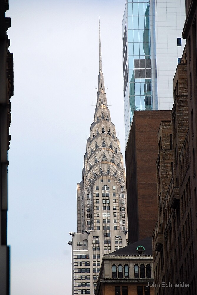 Chrysler Building - NYC by John Schneider