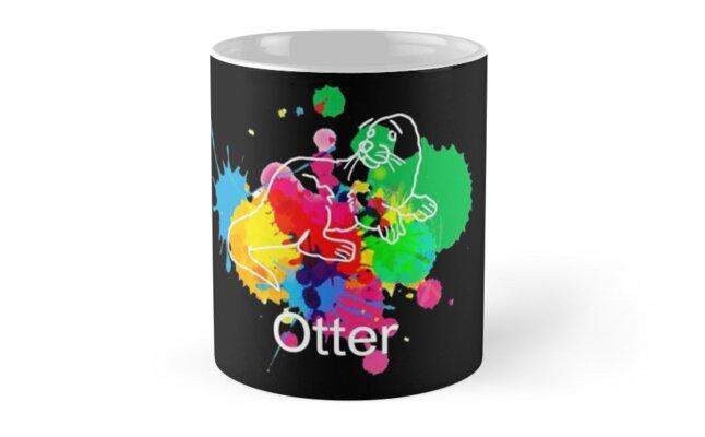 Otter Mug Paint (Black) by Otter573