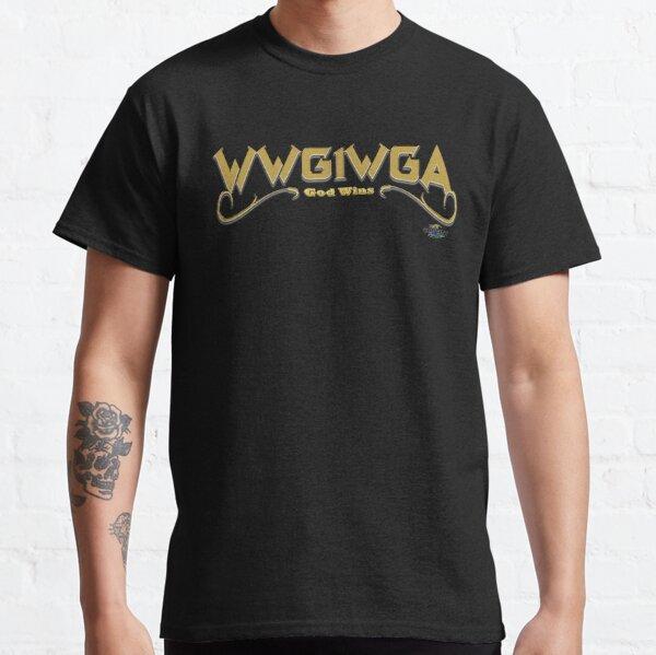 WWG1WGA gold design Classic T-Shirt
