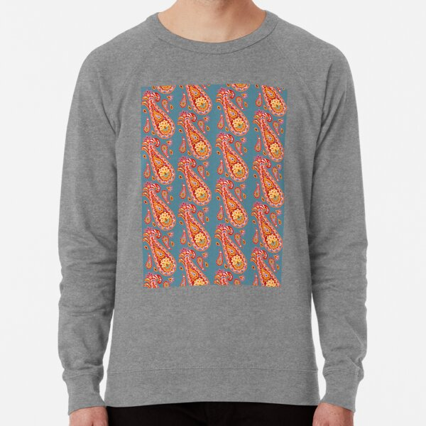 Midnight Paisley Lightweight Sweatshirt