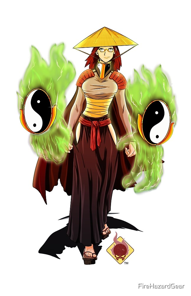 Samurai Mage by FireHazardGear