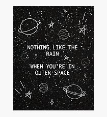 5SOS 5 Seconds of Summer Outer Space Lyric Doodle Photographic Print