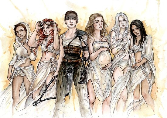 Furiosa and The Wives by Nitaniel-art