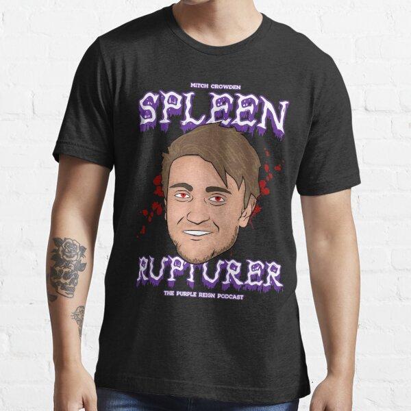 Mitch Crowden Spleen Rupturer (Purple print) Essential T-Shirt