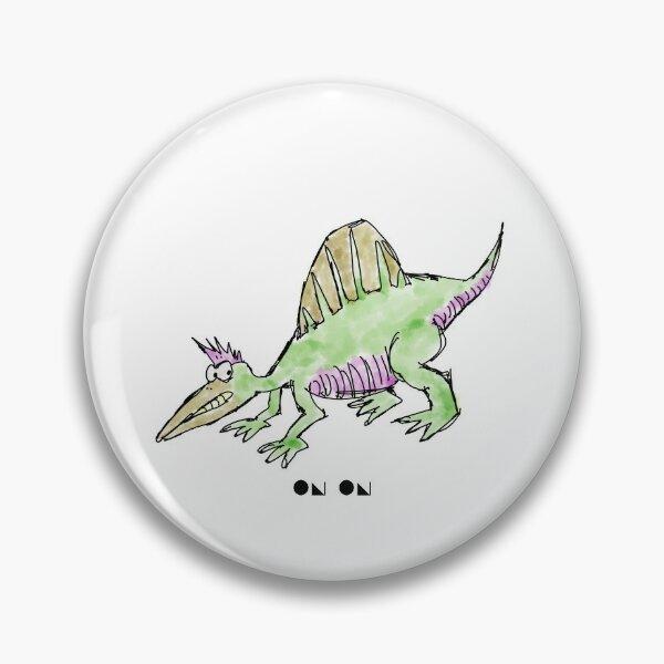 Cartoon Spinosaurus Pin