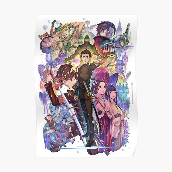 The Great Ace Attorney Chronicles Poster