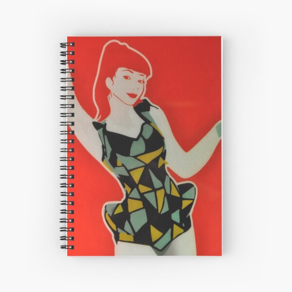 The coca cola advertisement outtake Spiral Notebook