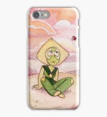 Peace and Love on the Planet Earth - Steven Universe Peridot iPhone Case/Skin