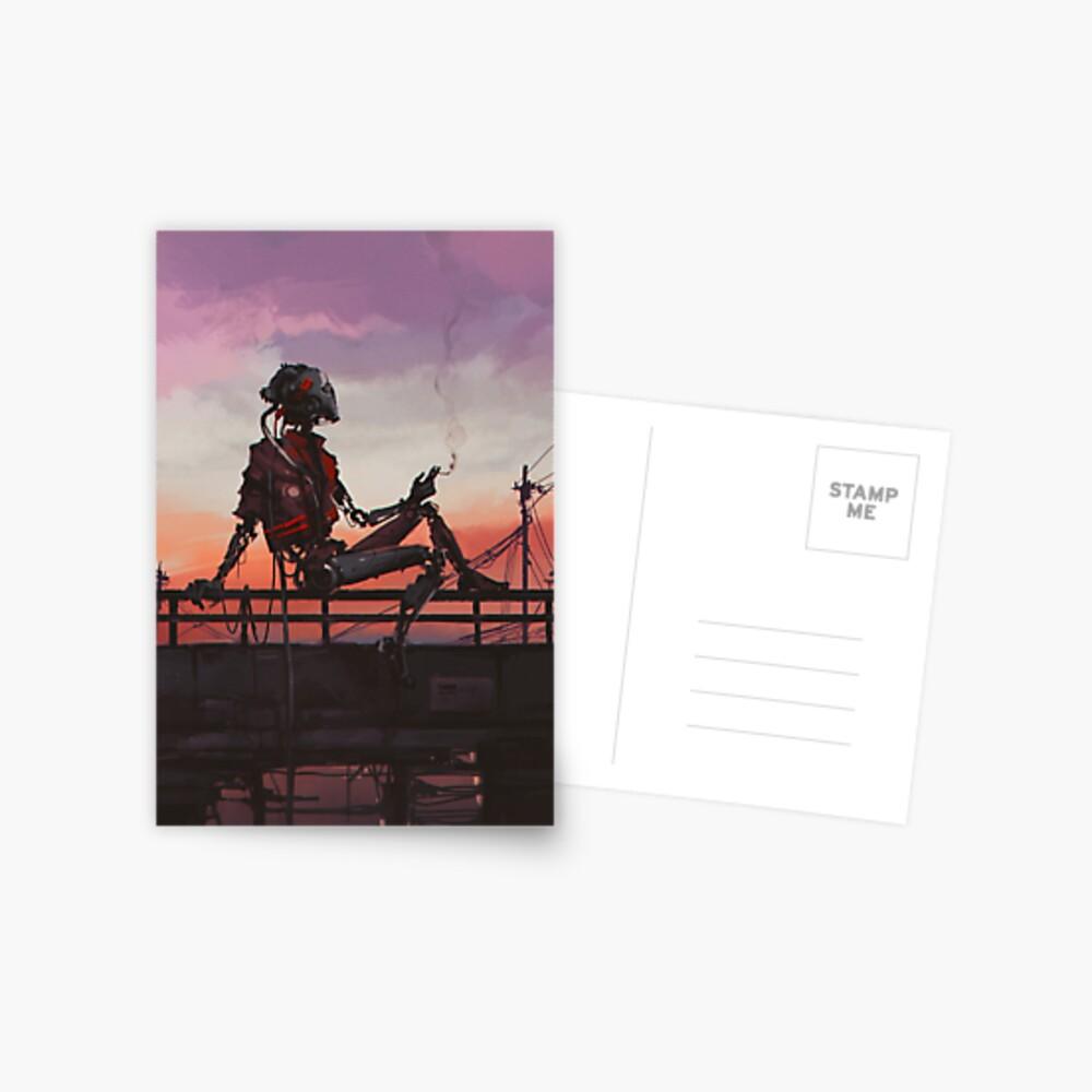 Calm Evening Postcard
