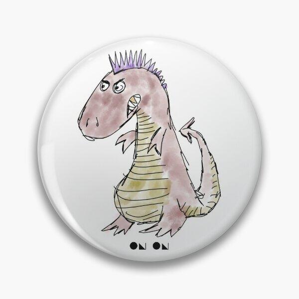 Cartoon Tyrannosaurus Rex Pin