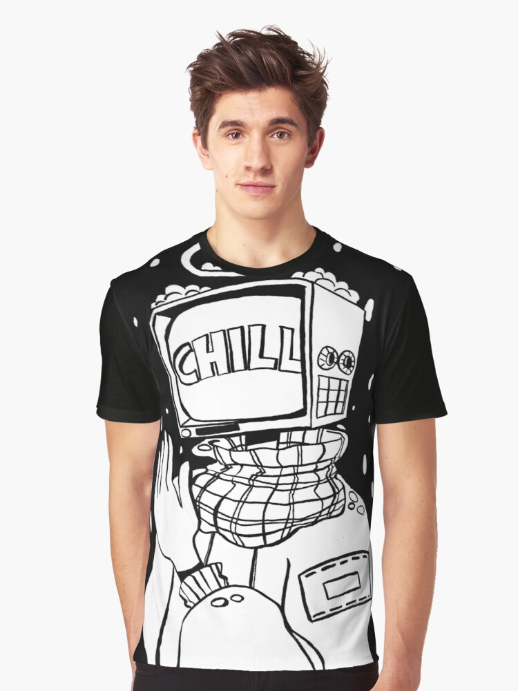 Chill Out Graphic T-Shirt Front