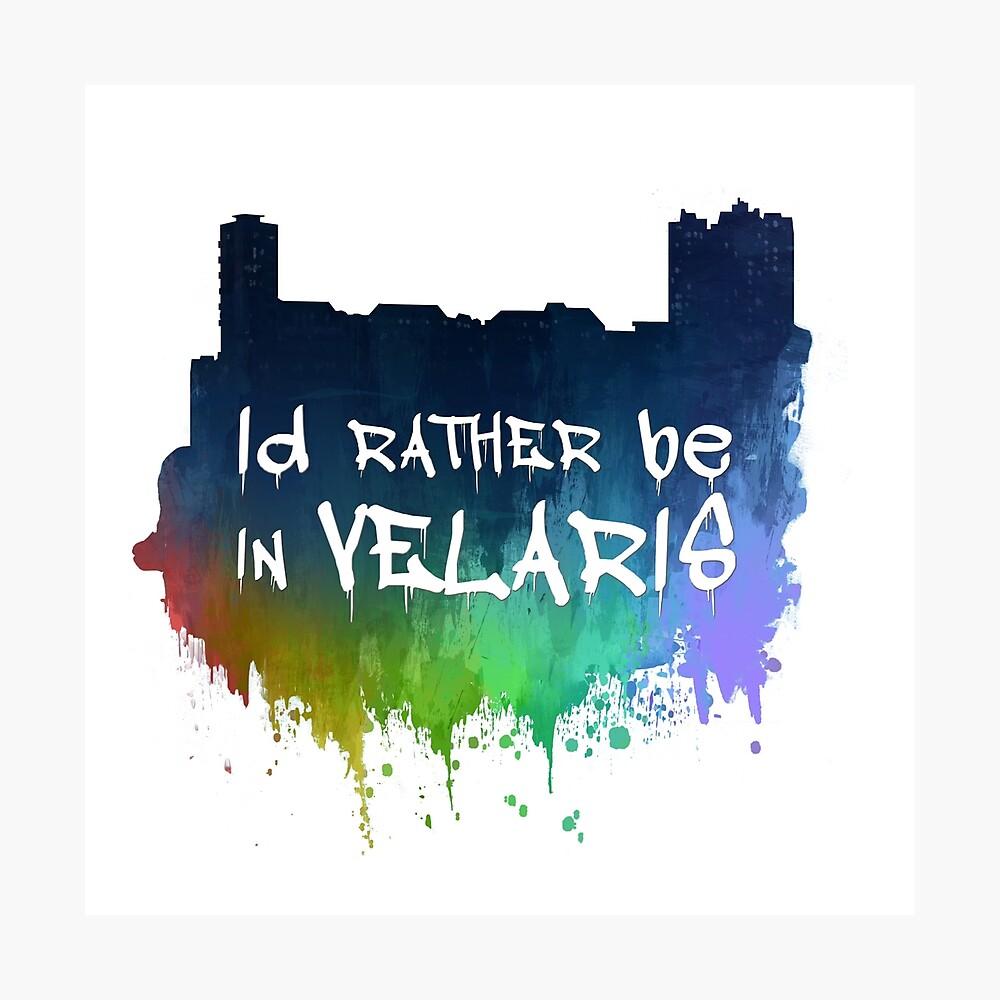 Ich wäre lieber in Velaris Fotodruck