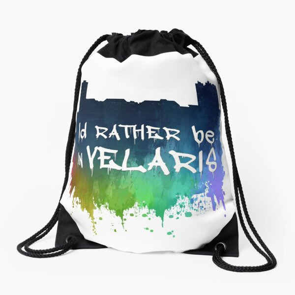 I'd Rather Be In Velaris Drawstring Bag