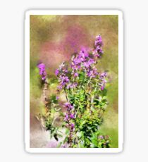 Wildflowers - painted Sticker