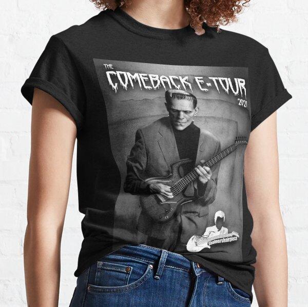 Frankenstein shatnershairpiece aneurysm comeback tour  Classic T-Shirt