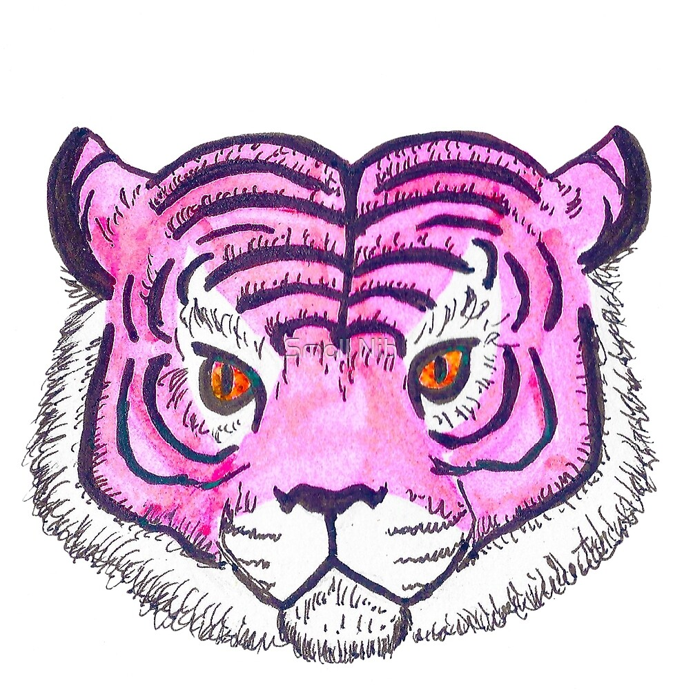 Panthera in Pink by PernilleCath