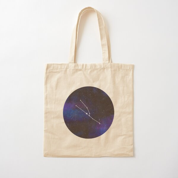 Taurus - galaxy star constellation Cotton Tote Bag