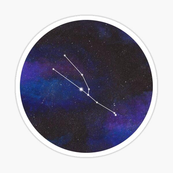 Taurus - galaxy star constellation Sticker