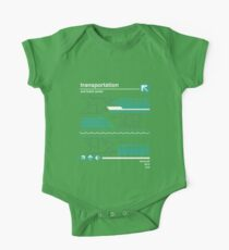 Monorail, Bus and Ferry One Piece - Short Sleeve