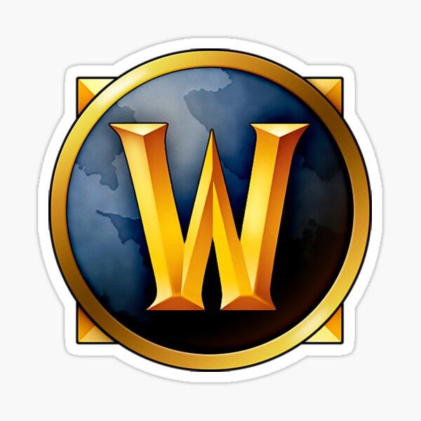 Wow Logo Sticker