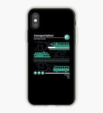 Monorail, Bus and Ferry iPhone Case