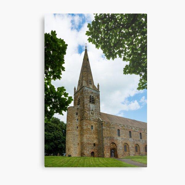 Brixworth Church Metal Print
