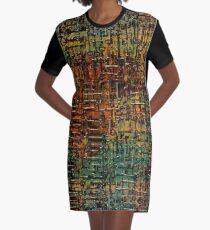 Keys to Steampunk Graphic T-Shirt Dress