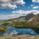 Glaslyn Lake by Adrian Evans