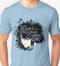 L Lawliet Quote T-Shirt
