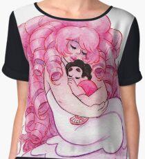 That's me Loving You: Steven Universe Rose Quartz and Steven NO BG Chiffon Top