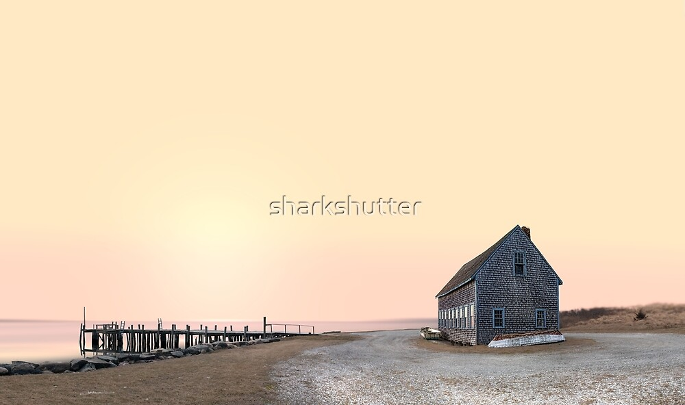 Chatham Boat House, Cape Cod by sharkshutter