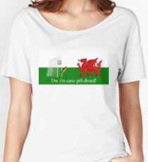 Dw i'n caru pêl-droed! Women's Relaxed Fit T-Shirt