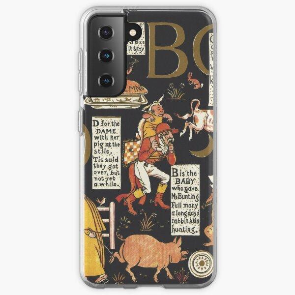 Walter Crane Alphabet Book - ABCD Samsung Galaxy Soft Case