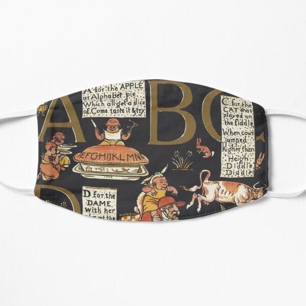 Walter Crane Alphabet Book - ABCD Flat Mask