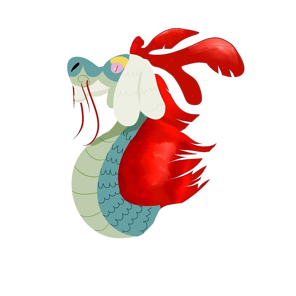 Elder dragon drampa by ToucanPuppy