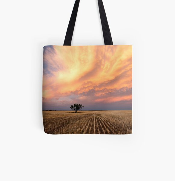 Pilliga Sunset All Over Print Tote Bag