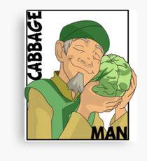 Cabbage Man; The Avatar Series Canvas Print