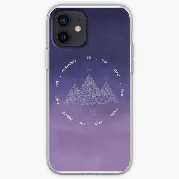 TO THE STARS WHO LISTEN AND THE DREAMS THAT ARE ANSWERED- SARAH J. MAAS iPhone Soft Case
