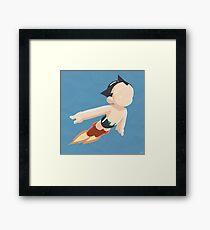 Astro Boy (Simplistic) Framed Print