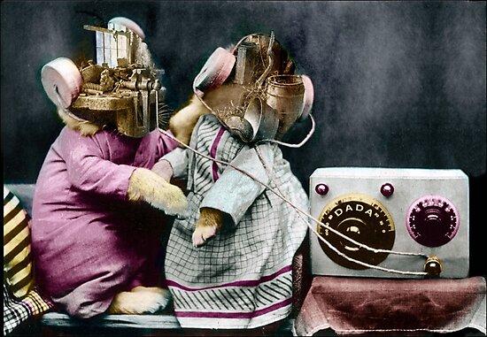 Hug Me Radio Radar Dada. by Andrew Nawroski